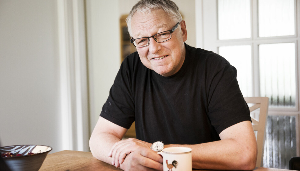ROY JACOBSEN MED NY BOK: Roy Jacobsen bor i Oslo mesteparten av året, men den sterke tilknytningen til Helgelandskysten har inspirert ham til å skrive tre bøker, så langt, om Ingrid Barrøy fra øya på Helgelandskysten. FOTO: NTB Scanpix