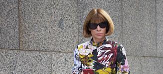Vogue-redaktør Anna Wintour går hardt ut mot britiske designere