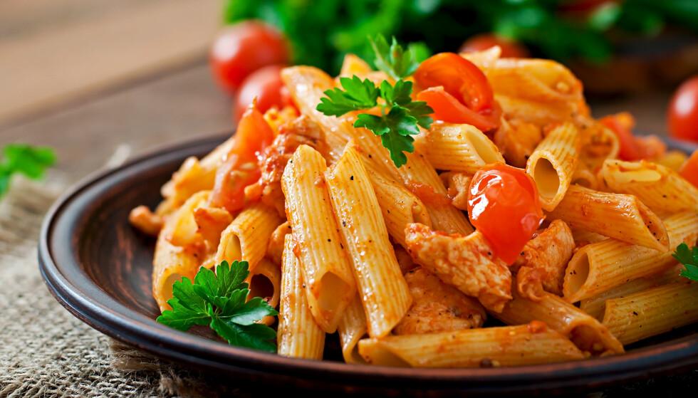 <strong>RESTEMAT:</strong> Vær forsiktig med hvordan du oppbevarer pasta- og risrestene. FOTO: NTB Scanpix