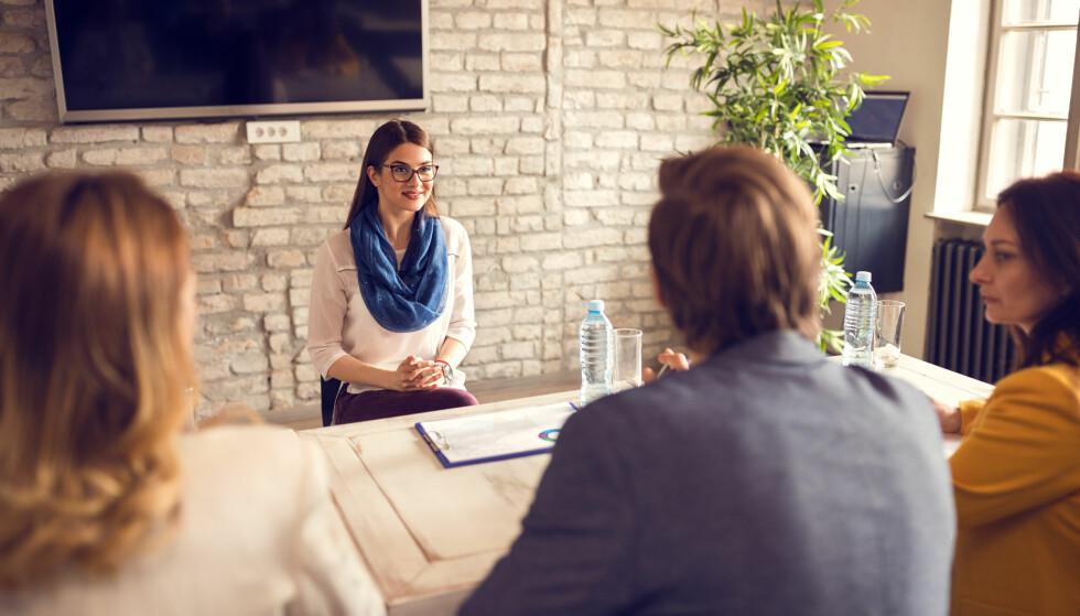 NERVEPIRRENDE: Mange kan trenge å øve seg mer på å se sin egen kompetanse, mener karriererådgiveren. FOTO: Scanpix.com