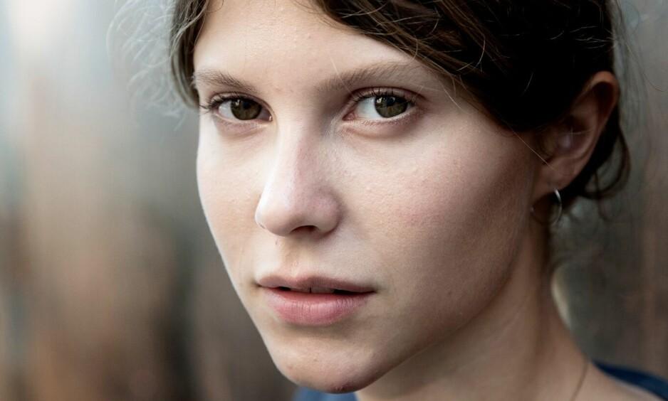 """EILI HARBOEN: 23-åringen har trolig en lysende skuespillerkarriere foran seg, etter å ha briljert i filmen """"Thelma"""". FOTO: Paal Audestad"""