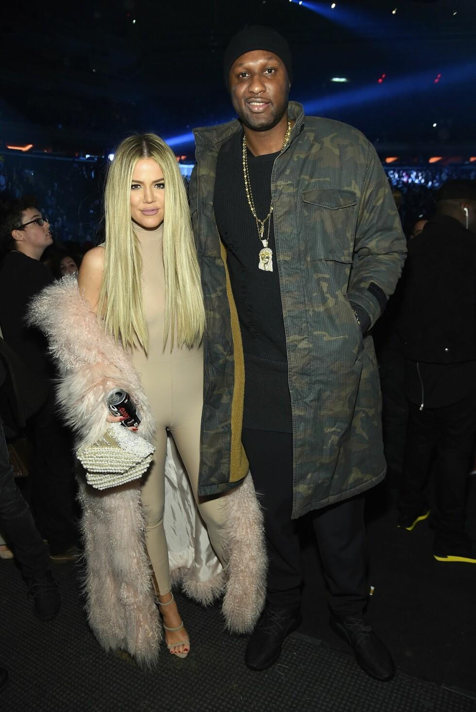 Khloé og Lamar Odom var gift i fire år, før de skilte seg i 2015.