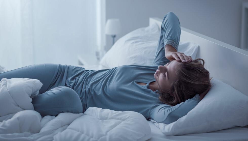 SØVNVANSKER: Omkring 10 prosent har insomni. FOTO: NTB Scanpix