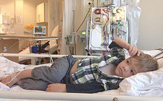 Marwin (7) ble reddet av farfars nyre