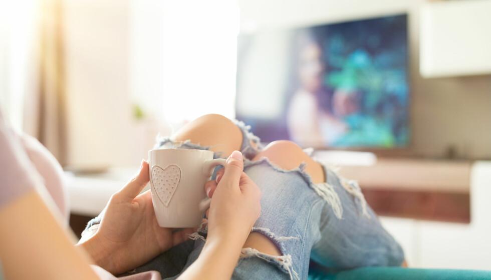 <strong>AVHENGIG:</strong> Jo, det er faktisk mulig å bli avhengig av å se på serier. FOTO: NTB scanpix