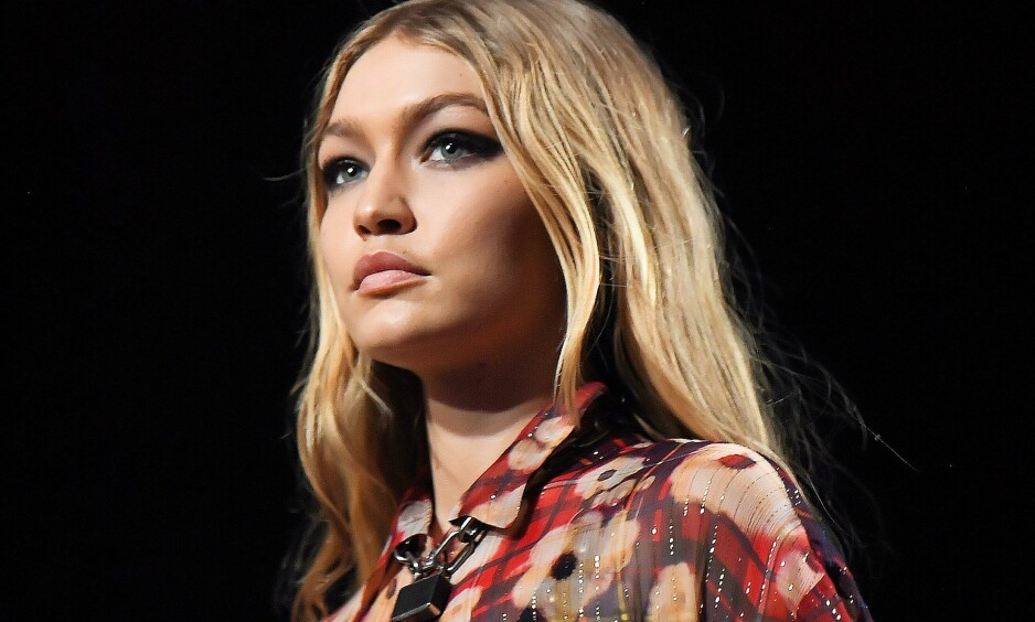SODA CREAM BLONDE: Alle kjendisene er gale etter hårfargen til Gigi Hadid, som omtales som soda cream blonde. FOTO: NTB Scanpix