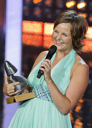 HEDRET: Under Amandaprisen 2012 vant Cecilie Mosli pris i kategorien «Beste kvinnelige birolle» for filmen «Kompani Orheim» Foto: NTB Scanpix