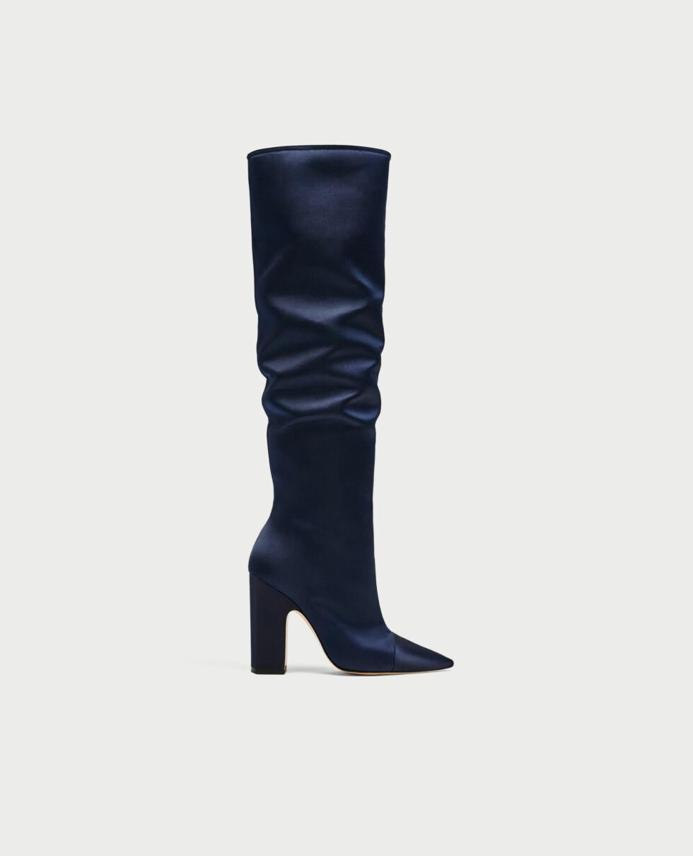Sko fra Zara  999,-  https://www.zara.com/no/no/dame/sko/st%C3%B8vletter/h%C3%B8yh%C3%A6lt-st%C3%B8vel-i-sateng-c269197p4838056.html