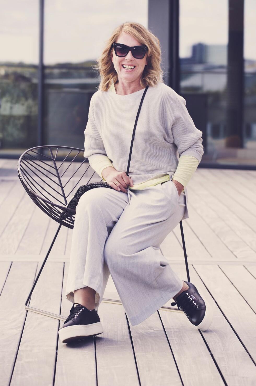 Elisabeth etter Bli ny! FOTO: Yvonne Wilhelmsen