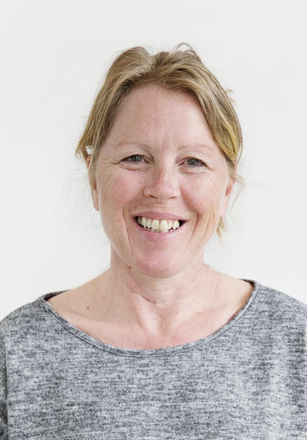 Elisabeth før Bli ny! FOTO: Yvonne Wilhelmsen