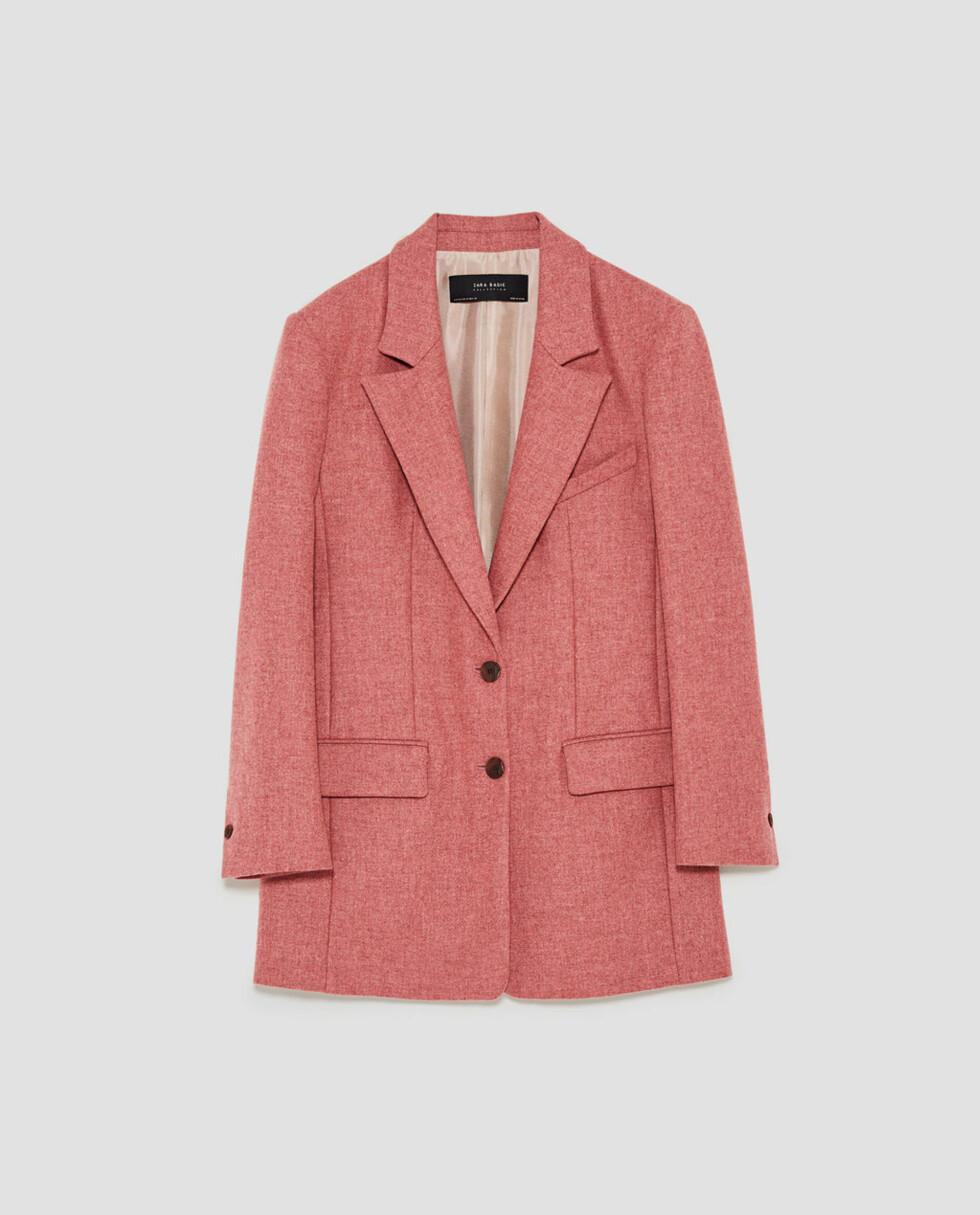Blazer fra Zara |899,-| https://www.zara.com/no/no/dame/nyheter/oversize-jakke-c840002p5034522.html