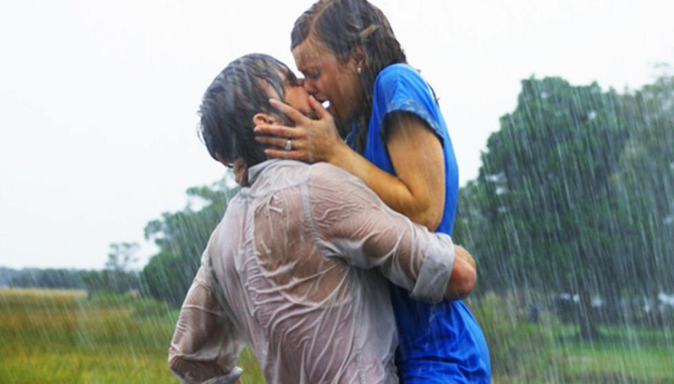 ROMANTISKE FILMER: Så levde de lykkelig i alle sine dager... Vel, ikke alltid. FOTO: Skjermdump The Notebook