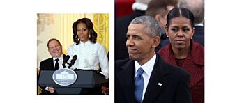 Ekteparet Obama: - Vi vemmes over voldtektsanklagene mot Harvey Weinstein