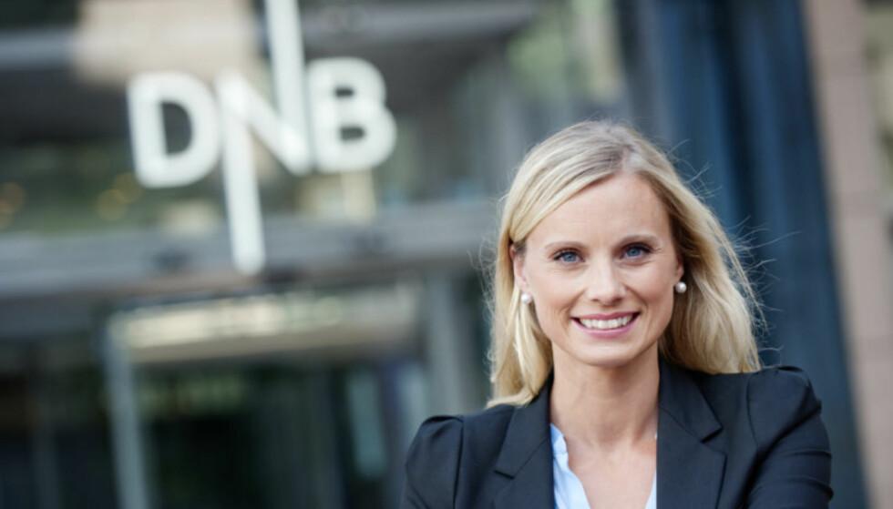 EKSPERTEN: Silje Sandmæl, forbrukerøkonom i DnB. Foto: Stig B. Fiksdal.