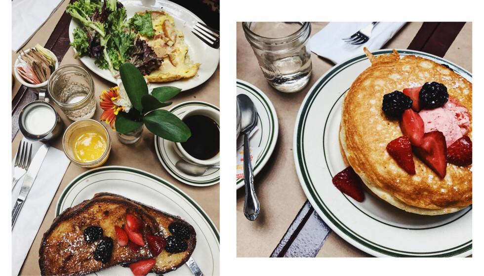 LE BARRICOU: Sørg for å være skikkelig sulten før du besøker denne restauranten! Foto: Malin Gaden