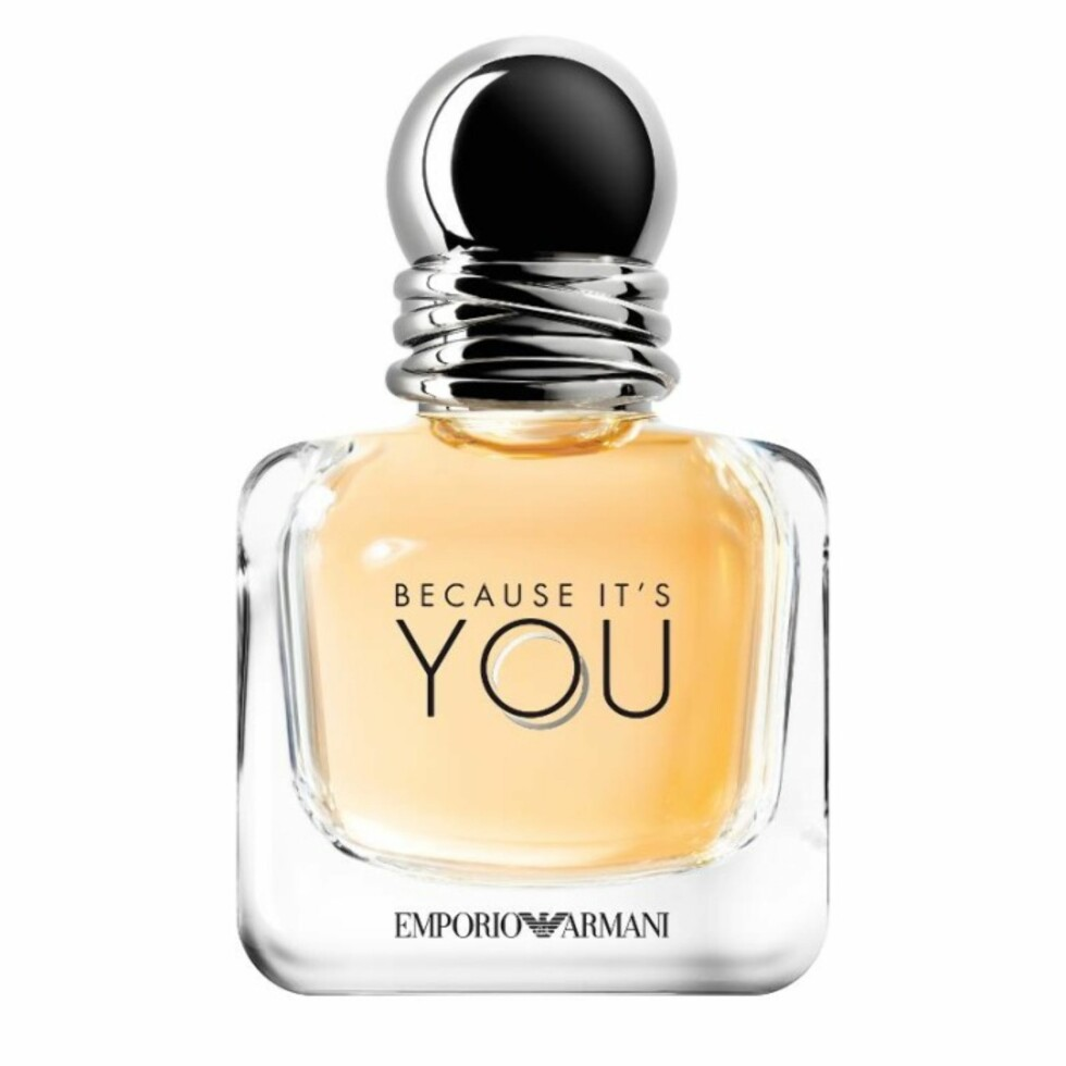 Parfyme fra Giorgio Armani via Kicks.no |495,-| https://www.kicks.no/giorgio-armani/nyheter-c3652/emporio-armani-because-its-you-edp-p91243