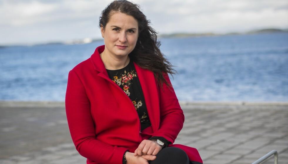 FØDSELSPSYKOSE: Monika Blikø måtte legges inn på psykiatrisk avdeling. Ni måneder gikk det før hun ble frisk. FOTO: Monica Larsen