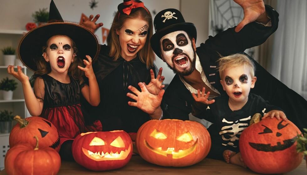HALLOWEENREGLER: Dersom alle følger disse enkle reglene vil barna få oppleve nok en flott Halloweenfeiring den 31. oktober. Foto: Evgeny Atamanenko/NTB Scanpix