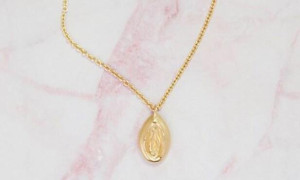 Det er gullsmed Camilla Johansen bak merket Ilda Design som har designet smykket. Foto: Iladesign.com