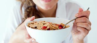 Forskning viser at de som dropper frokosten, har høyere risiko for hjertesykdom og diabetes