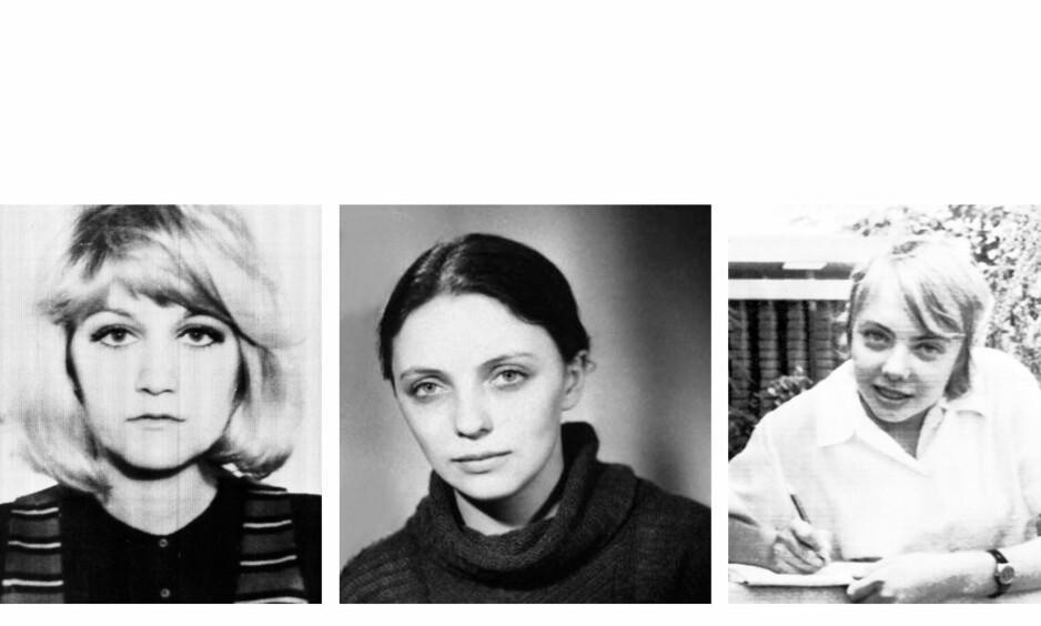 OVERLEVDE FLYULYKKE: De tre kvinnene Vesna Vulovic, Larissa Sovitskaja og Juliane Köpcke overlevd flyulykker. FOTO: NTB Scanpix/ Getty Images