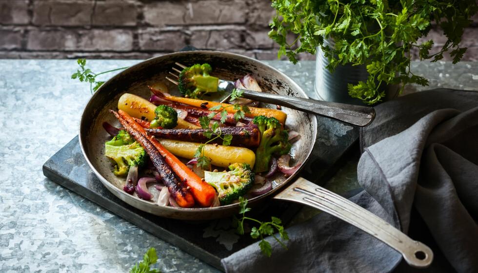 <strong>ED-DIETT:</strong> Denne dietten passer godt for de som liker å spise store porsjoner med mat, og masse grønnsaker.FOTO: NTB Scanpix