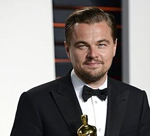 SKAL SPILLE HOLMES: Leonardo DiCaprio skal visstnok spille Holmes i en kommende film. FOTO: NTB scanpix