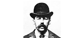 Dr. H.H. Holmes var en av de første kjente seriemorderne i USA