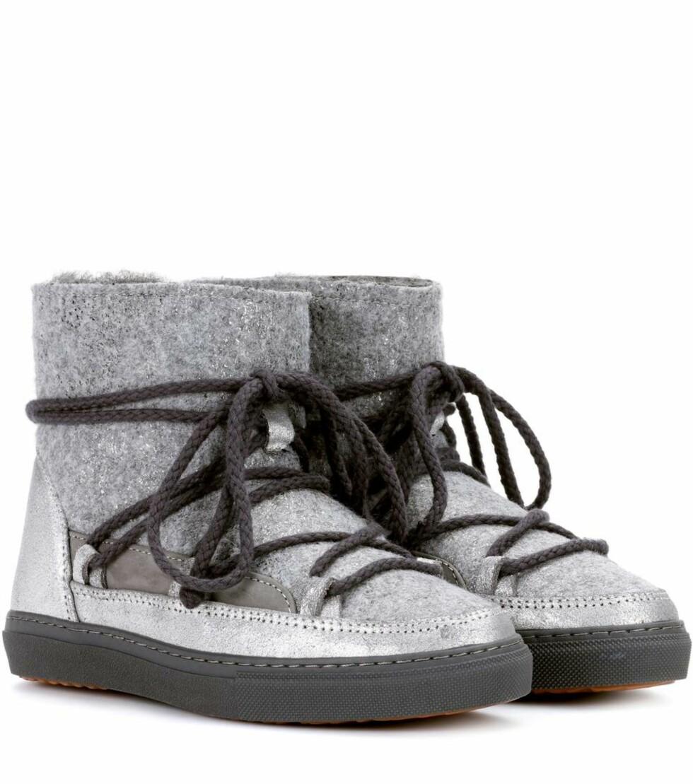 Sko fra Inuikii via Mytheresa.com |2323,-| https://www.mytheresa.com/en-de/inuikii-sneaker-dusty-felter-ankle-boots-869572.html?catref=category