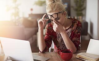 Når bør du egentlig oppsøke lege for hodepine?