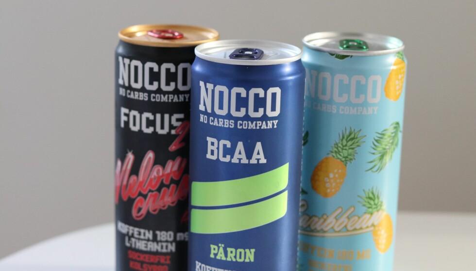 JA ELLER NEI?: Ifølge ekspertene, vil du ikke få særlig god effekt av BCAA-drikker slik som for eksempel Nocco. (Foto: Ida Bergersen)