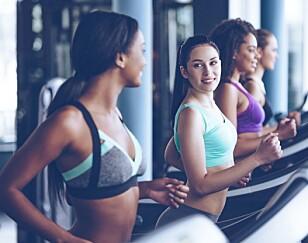 HVA ER MÅLET: Mosjon er uansett bra, men er målet å forbrenne fett må man gjerne trene med høy intensitet. FOTO: NTB scanpix