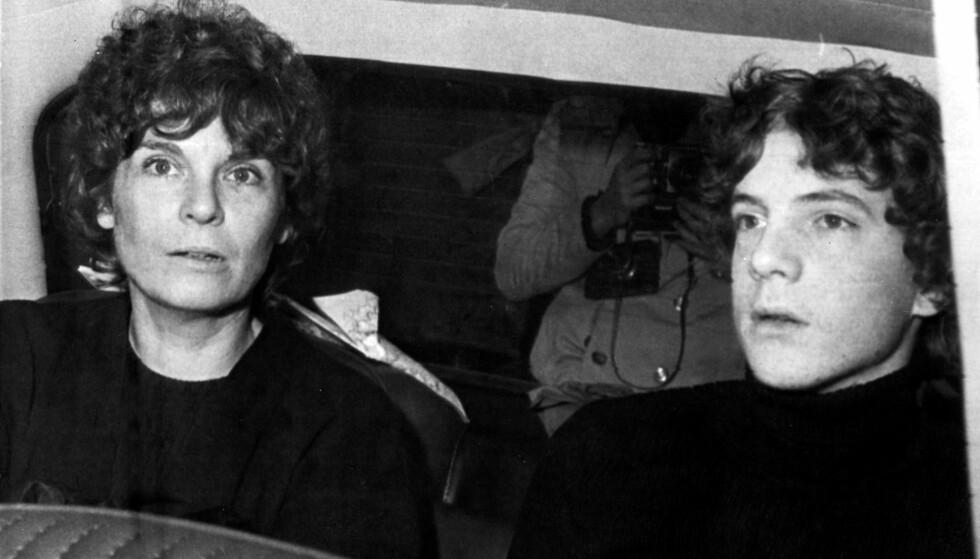 SATT FRI: Omsider fikk mamma Gail Harris sønnen John Paul Getty III hjem igjen. Da hadde han vært holdt fanget i fem måneder. FOTO: NTB scanpix