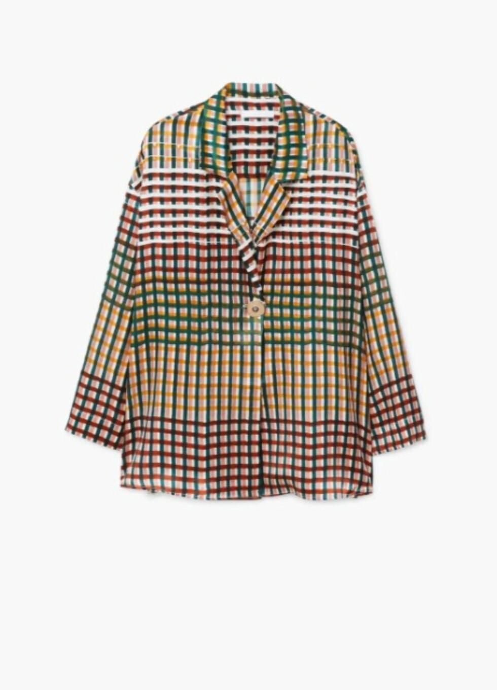 Skjorte fra Mango |1399,-| https://shop.mango.com/no/damer/skjorter-bluser/dobbelspent-silkebluse_11019052.html?c=49&ts=1510138252569