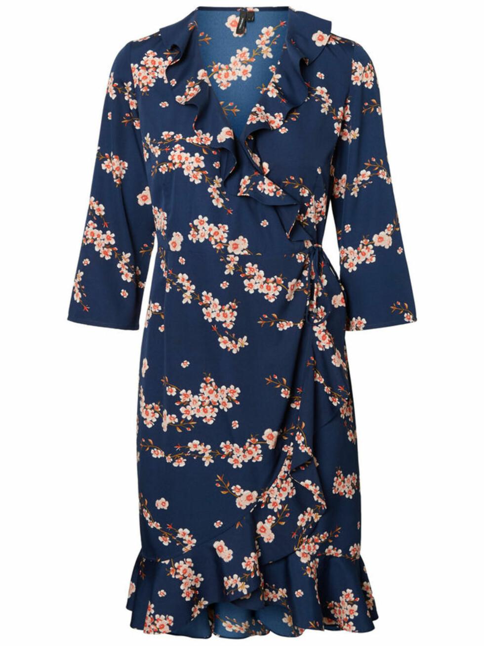 Kjole fra Vero Moda |300,-| https://www.veromoda.com/no/no/vm/kjoep-etter-kategori/kjoler/henna-kjole-10200452.html?cgid=vm-dresses&dwvar_colorPattern=10200452_Winetasting_630420