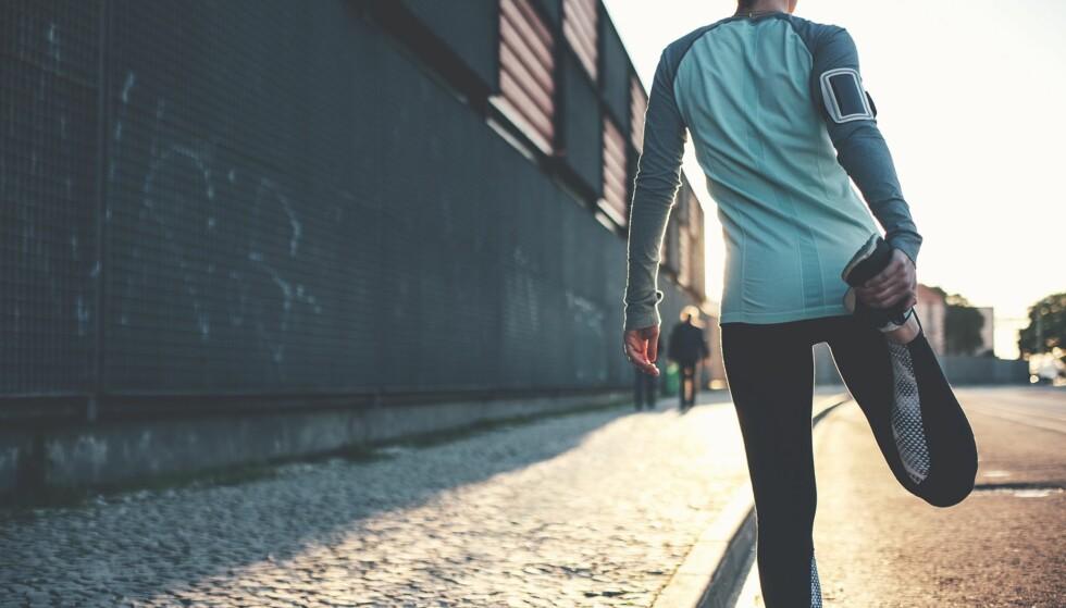 TØYING: Tøying gjør deg ikke mindre støl, men det er svært godt for bevegeligheten din. FOTO: NTB scanpix.