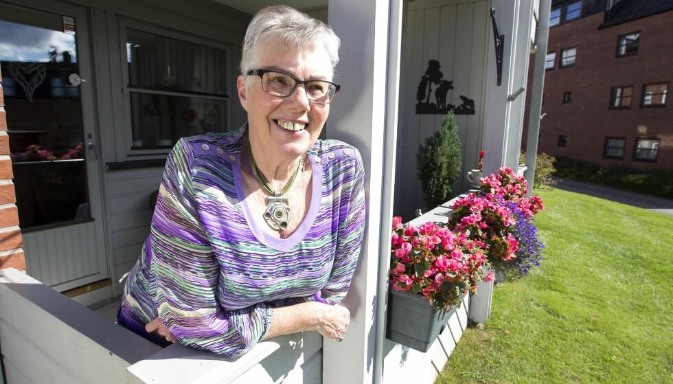 KOLS: Marit fikk påvist kols i 2009 etter å ha hatt svineinfluensa. FOTO: Alf Øystein Støtvig