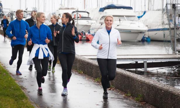 MOTIVASJON: - En treningsklokke skal fungere som et klapp på skulderen og en støttende venn, fremfor en som krever og forlanger, sier Johanna Grønneberg til KK. Foto: Pia Bråthen