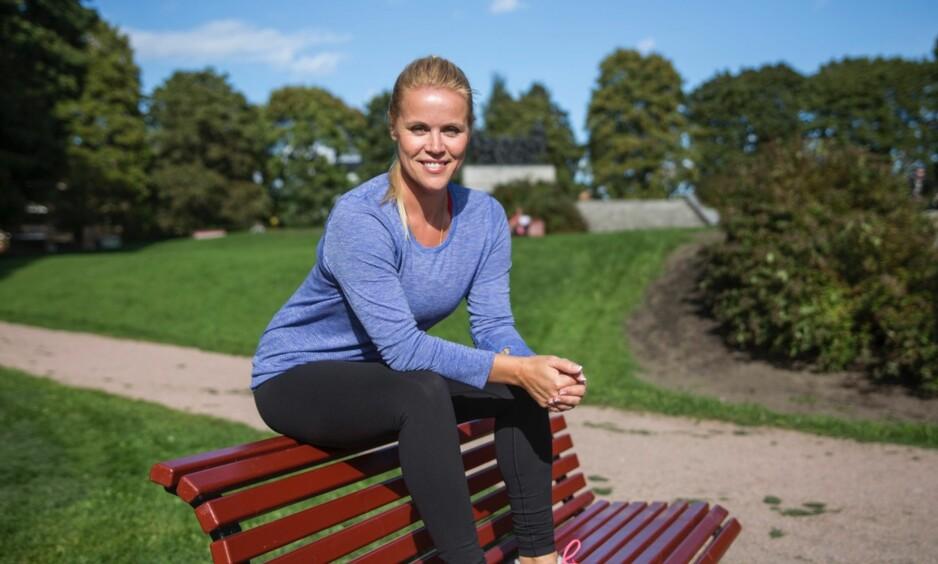 TRENING: Johanna Grønneberg har hort stor suksess som PT i USA, og er titt og ofte hjemme i Norge for å inspirere nordmenn til å komme i gang med treningen. Foto: Trond Larsen
