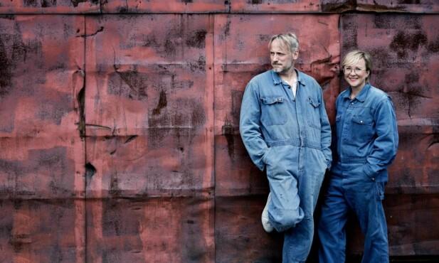 PARFORHOLD: De kommer fra ulike hjem og bakgrunner, men sammen har skuespillerparet skapt en felles base. FOTO: Carsten Seidel