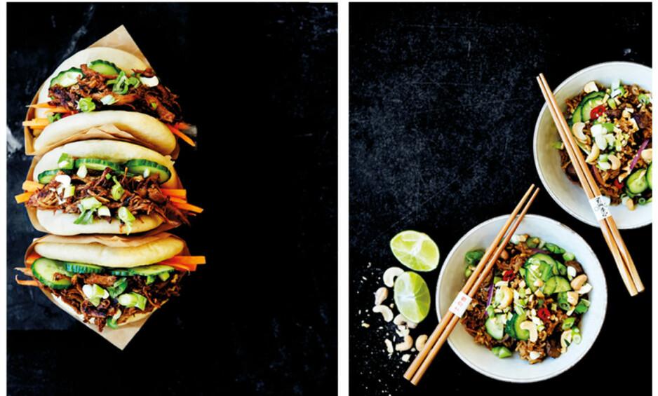 FASTFOOD: Klart du kan lage digg fastfood hjemme på ditt eget kjøkken! FOTO: All Over Press