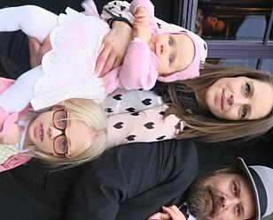 TRAVEL HVERDAG: Med tre små barn, full jobb og et hjem som er nedpakket i pappesker, har Marte og samboer Jørgen lite tid til andre oppgaver. Foto: Inger Jonsrud