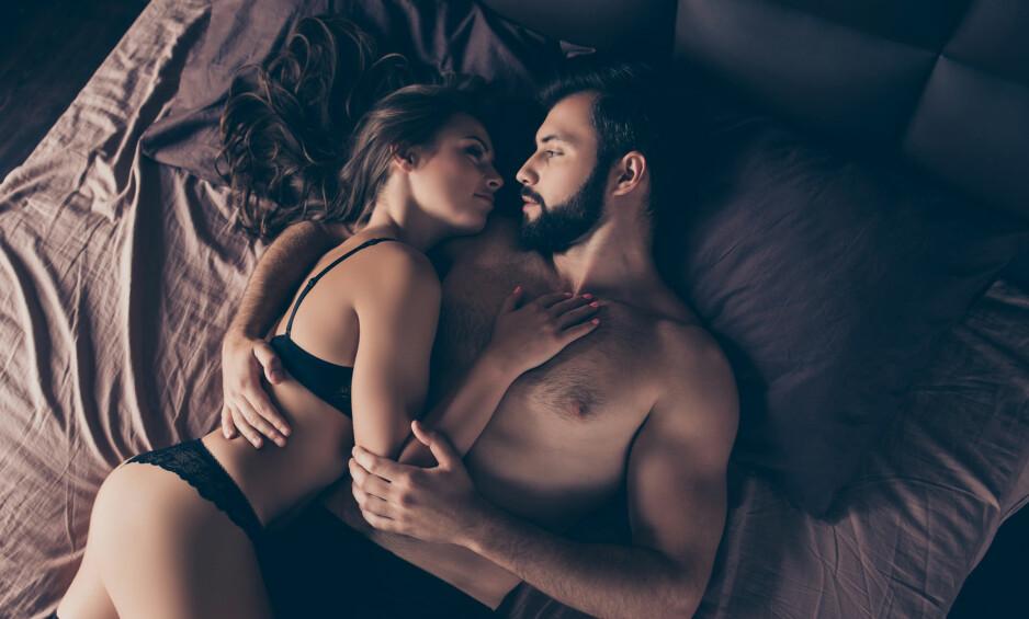 SEX UTEN FØLELSER: Menn har oftere sex uten å knytte det til følelser, ifølge ekspertene. Flere menn enn kvinner er utro på tross av at de er lykkelige i forholdet. FOTO: NTB Scanpix