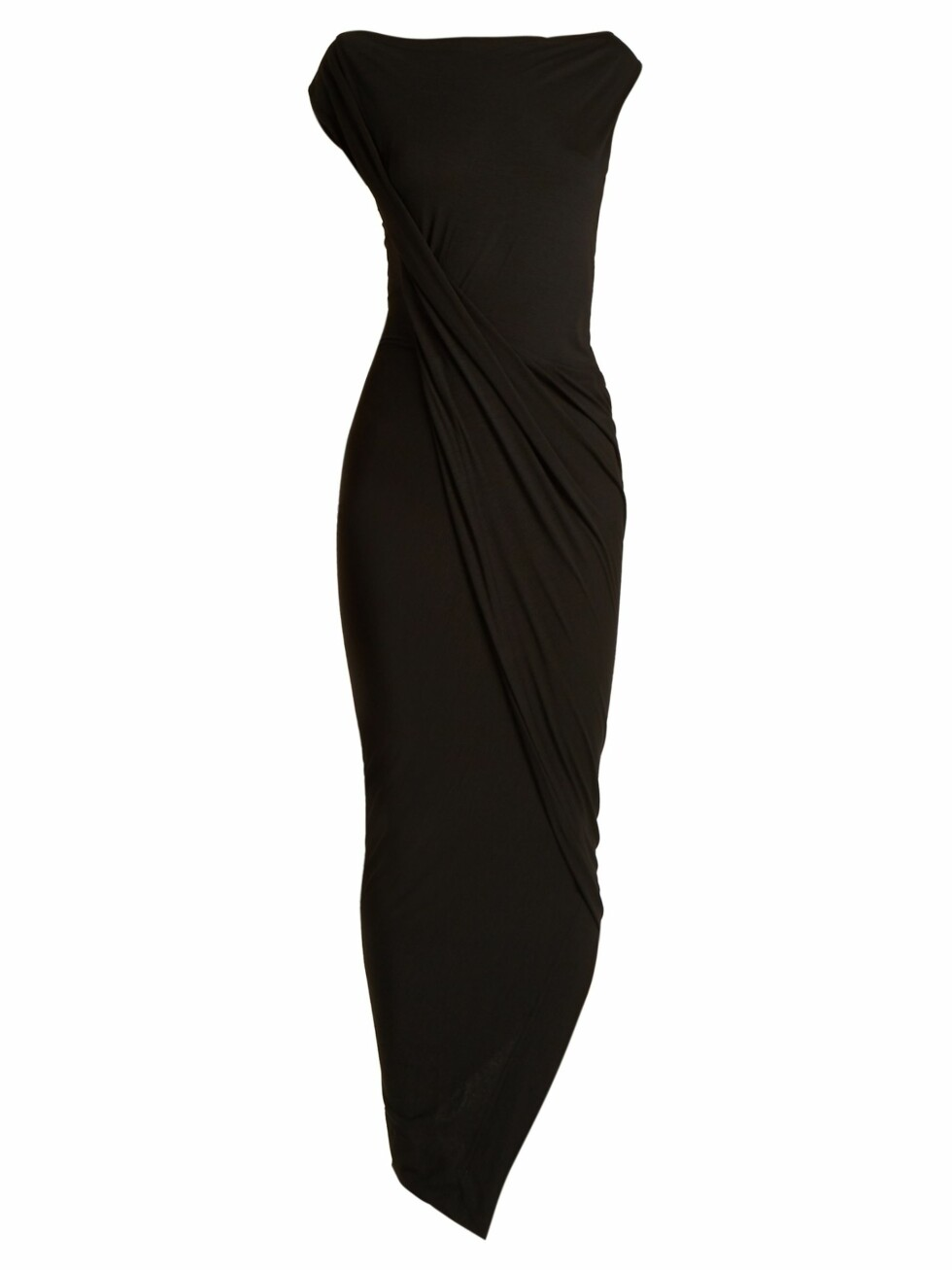 Kjole fra Vivienne Westwood via Matchesfashion.com |2665,-| https://www.matchesfashion.com/intl/products/Vivienne-Westwood-Anglomania-Vian-draped-front-jersey-dress-1188109