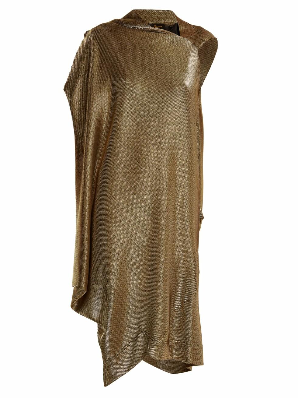 Kjole fra Vivienne Westwood via Matchesfashion.com |3265,.| https://www.matchesfashion.com/intl/products/Vivienne-Westwood-Anglomania-Squires-asymmetric-draped-dress-1160773?qxjkl=tsid:38929|cgn:QFGLnEolOWg&c3ch=LinkShare&c3nid=QFGLnEolOWg&utm_source=linkshare&utm_medium=affiliation&utm_campaign=us&utm_content=QFGLnEolOWg