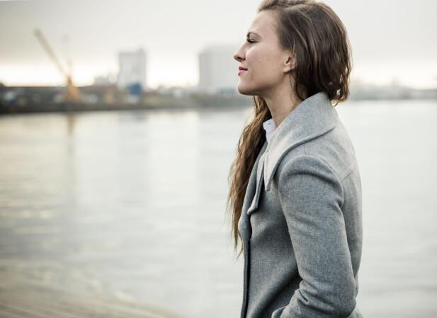 TØFFE KRAV: Katharina synes at vektkravene er det vanskeligste med hele idretten. Foto: Astrid Waller