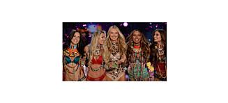 Victoria's Secret-modellene kom på etterfest i norsk design