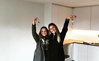 Iselin og Synne kjøpte bolig sammen