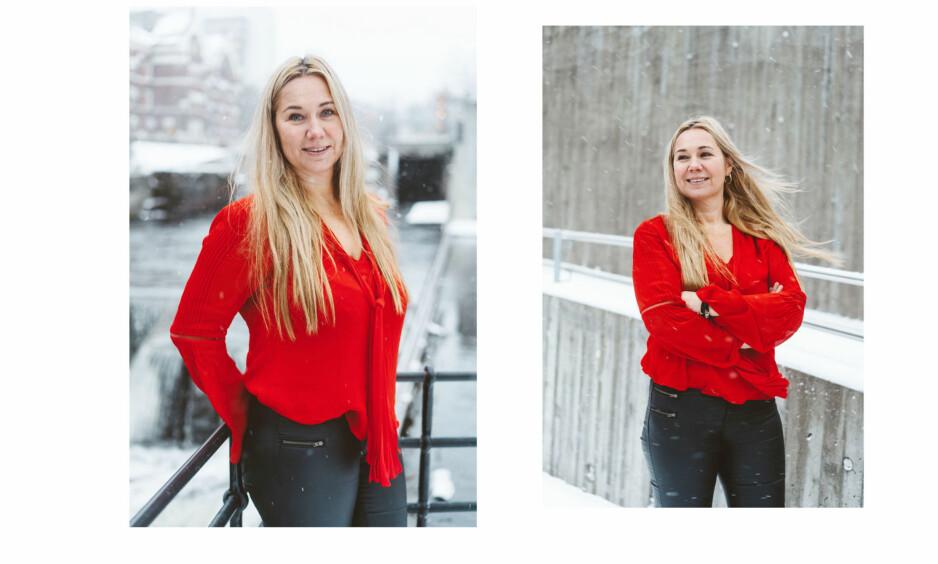 TINE AUSTVOLL JENSEN: Vi møtte administrerende direktør for Discovery Network Norge på vinterens første og kaldeste dag. Men den hardbarka nordlendingen hadde ingenting imot å la seg fotografere i det friske været. FOTO: Håkon Jørgensen