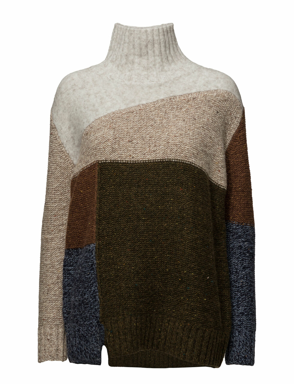 Genser fra French Connection via Boozt.com |861,-| https://www.boozt.com/no/no/french-connection/anna-patchwork-knitted-jumper_15886445/15886448?navId=69882&group=listing&position=1000000